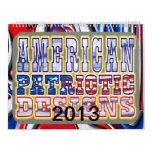 Diseños patrióticos americanos calendarios de pared