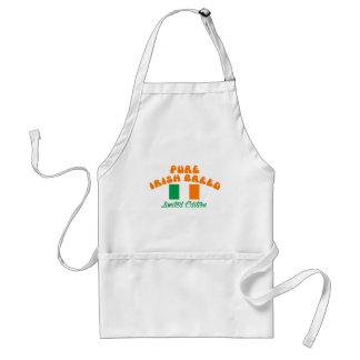 Diseños patrióticos del irlandés delantal
