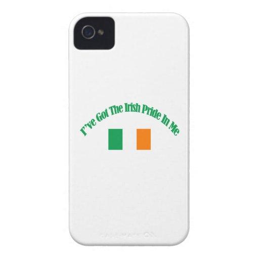 Diseños patrióticos irlandeses de la bandera Case-Mate iPhone 4 cárcasa