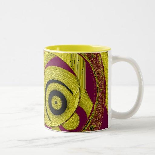 Diseños planetarios Spacial de la taza