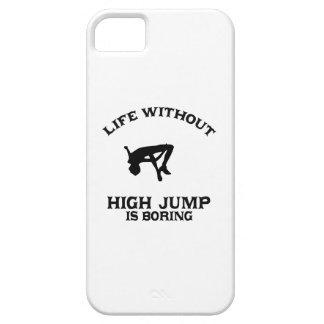 DISEÑOS preciosos del salto de altura iPhone 5 Carcasa