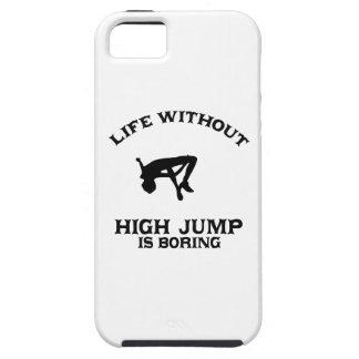 DISEÑOS preciosos del salto de altura iPhone 5 Fundas