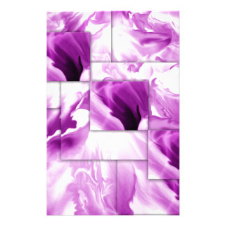 diseños Púrpura-abstractos Papeleria