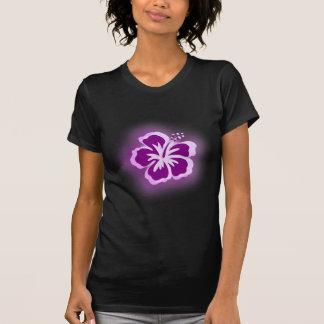 diseños púrpuras del resplandor playeras