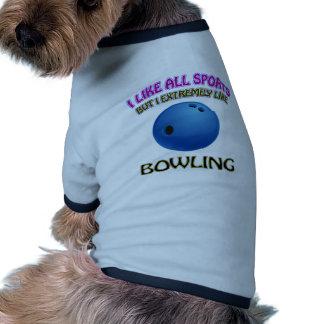 Diseños que ruedan camisetas de mascota