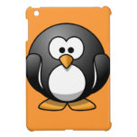 Diseños redondos lindos del pingüino