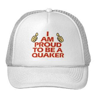 Diseños religiosos del Quaker Gorros