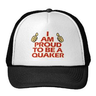 Diseños religiosos del Quaker Gorros Bordados