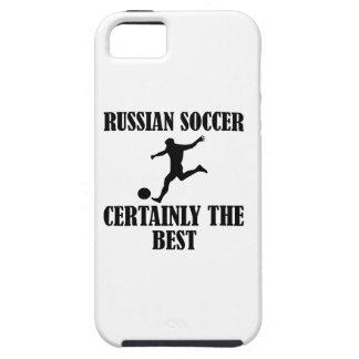 diseños rusos frescos del fútbol iPhone 5 funda