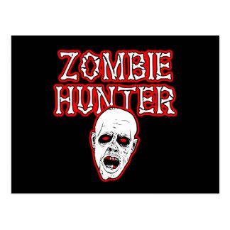 Diseños salvajes del engranaje - cazador del zombi postales
