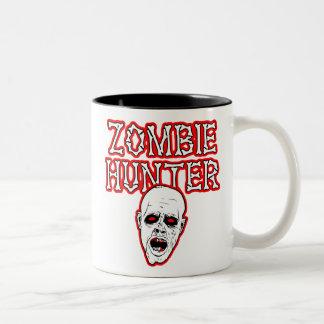 Diseños salvajes del engranaje - cazador del zombi taza de café