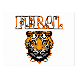 Diseños salvajes del engranaje - naranja salvaje d postales