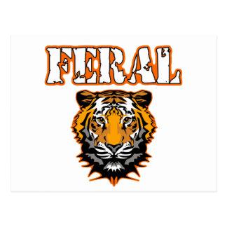 Diseños salvajes del engranaje - naranja salvaje postal