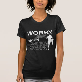 diseños tailandeses muay camiseta