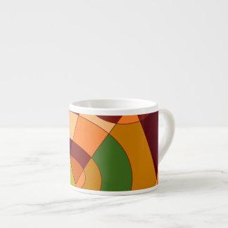 Diseños temáticos del extracto del otoño taza espresso