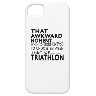 Diseños torpes de ese Triathlon del momento iPhone 5 Coberturas