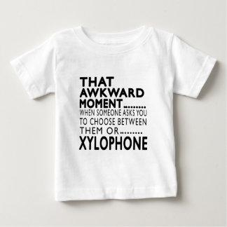 Diseños torpes de ese xilófono del momento t shirt