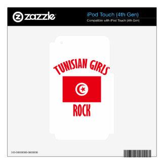 DISEÑOS tunecinos de los chicas Calcomanías Para iPod Touch 4G