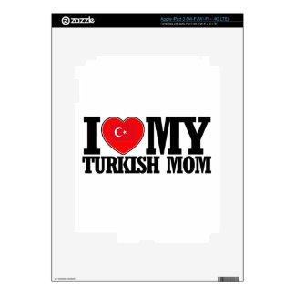 diseños turcos frescos de la mamá iPad 3 skins