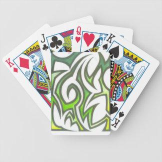 Diseños únicos de las ilustraciones del asesino barajas de cartas