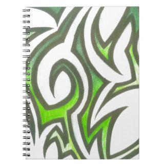 Diseños únicos de las ilustraciones del asesino cuadernos