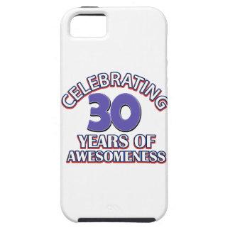 diseños y regalos del cumpleaños de 30 años iPhone 5 funda