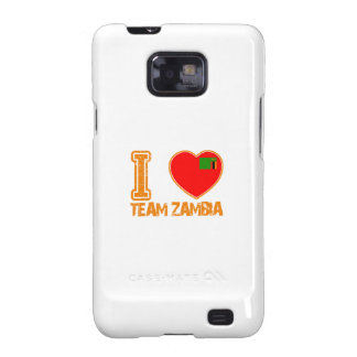 diseños zambianos del deporte samsung galaxy SII carcasas