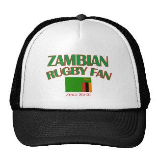 DISEÑOS zambianos frescos de la fan del rugbi Gorra