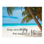 Disfrute de la belleza de la vida