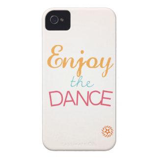 Disfrute de la danza iPhone 4 carcasa