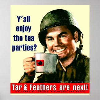 ¿Disfrute de la fiesta del té Impresiones