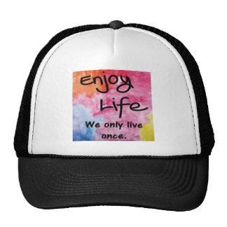 Disfrute de la vida
