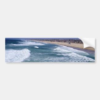 Disfrute de la vida - playa California de Hermosa Pegatina Para Auto