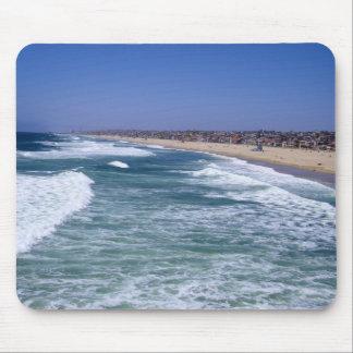 Disfrute de la vida - playa California de Hermosa Alfombrilla De Ratón