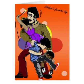 Disfrute de su día, tarjeta del día de padre