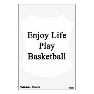Disfrute del baloncesto del juego de la vida