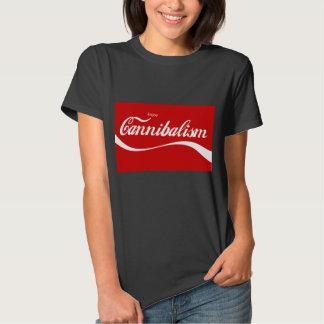 ¡Disfrute del canibalismo! Playeras