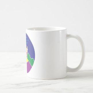 Disfrute del paseo taza de café