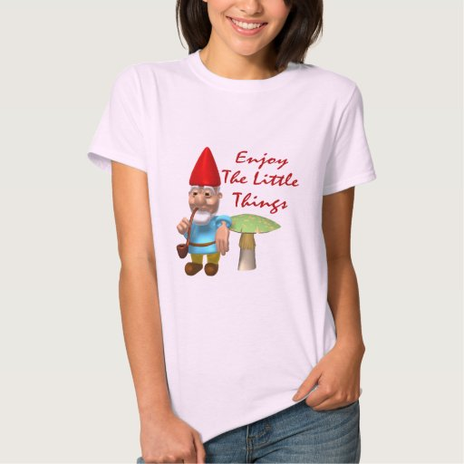 Disfrute del pequeño gnomo de las cosas camisas