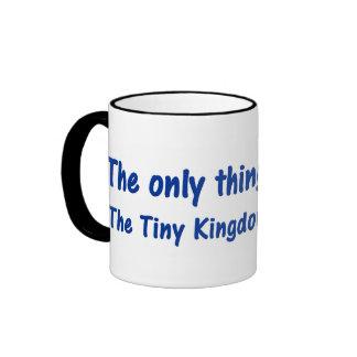 Disfrute del reino minúsculo de su mente taza de café