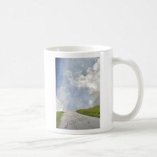 Disfrute del viaje taza