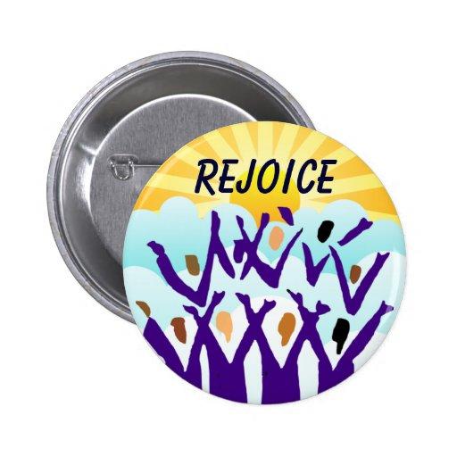 Disfrute el botón pin redondo de 2 pulgadas