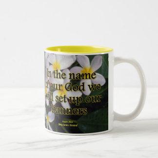 Disfrute el salmo 20-4 condensado taza de café