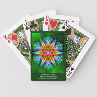 Disfrute en el vórtice baraja cartas de poker