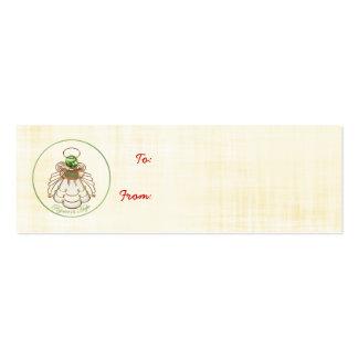 Disfrute en la esperanza - ángel del navidad de la tarjeta personal