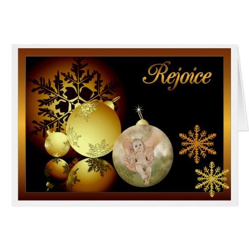 Disfrute la tarjeta de Navidad