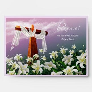 Disfrute. Sobres de ofrecimiento de Pascua