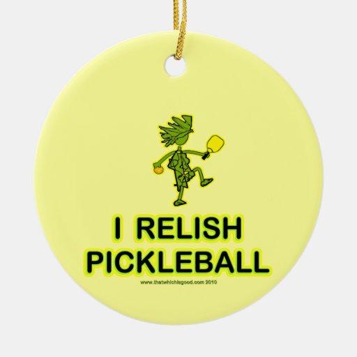 Disfruto con el camisetas y los regalos de Pickleb Ornamento De Reyes Magos