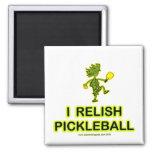 Disfruto con el camisetas y los regalos de Pickleb Imán