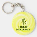 Disfruto con el camisetas y los regalos de Pickleb Llavero Personalizado